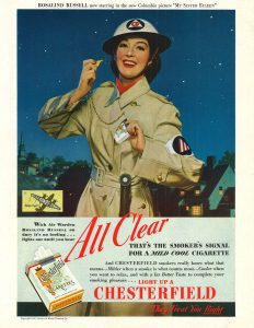 Rosalind Russell for Chesterfield