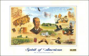 Spirit of American art print  bdr