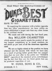 The World Duke ad 1889 Resize 50