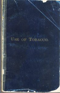 Use of Tobacco cover