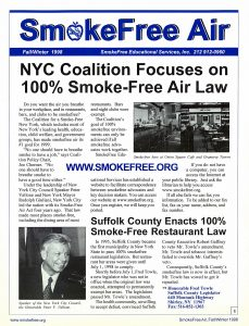 smoke free air law