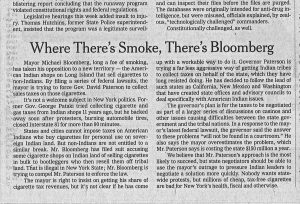 where theres smoke theres bloomberg