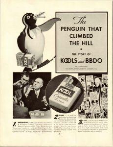 1951 BBDO Agency Ad The Story of Kools BBDO