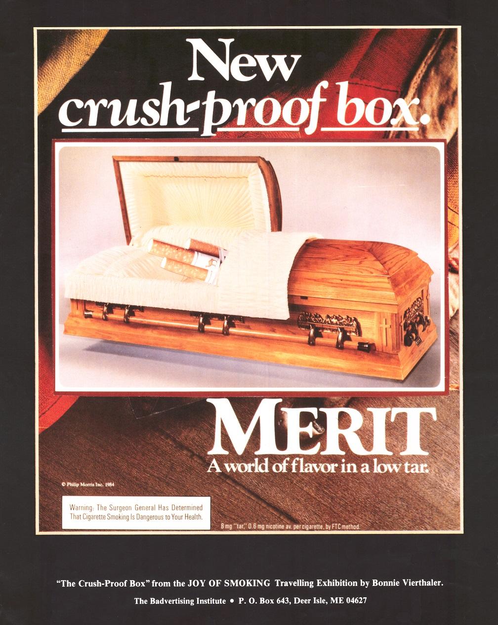 New Crush Proof Box The Badvertising Institute