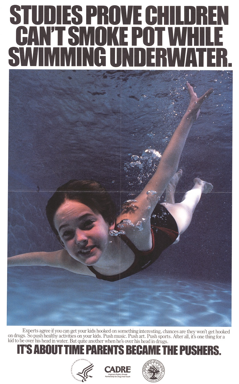 Studies Prove Kids Cant Smoke Pot Underwater DHS DOE CADRE