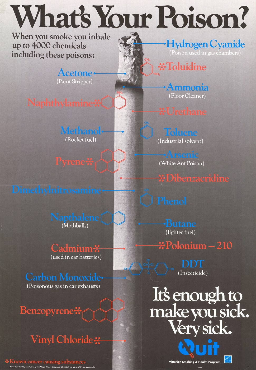 Whats Your Poison Victorian Smoking and Health Program 1990
