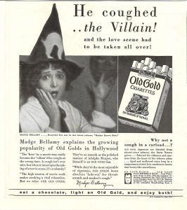 1928 Madge Bellamy for Old Gold 1
