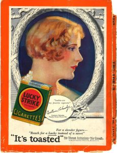 1929 The Forum Constance Talmadge for Lucky Strike