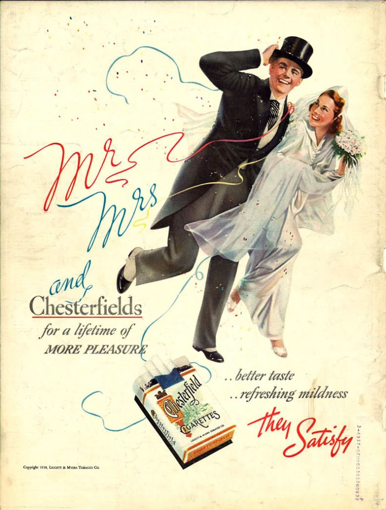 1938 Mr Mrs and Chestrfield