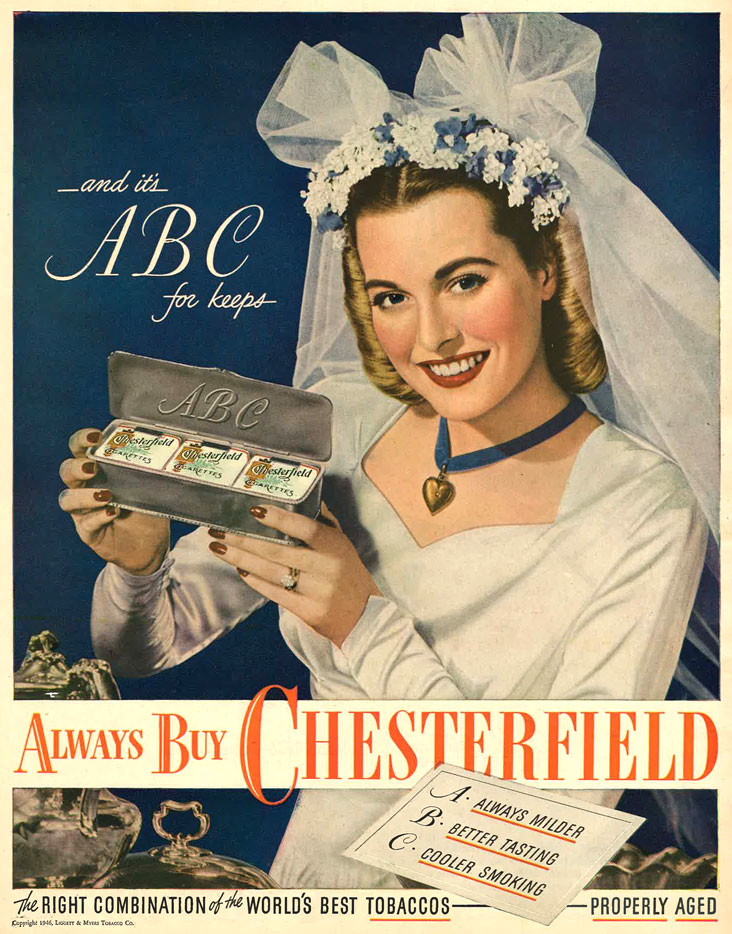 1946 Chesterfield and its ABC for keeps