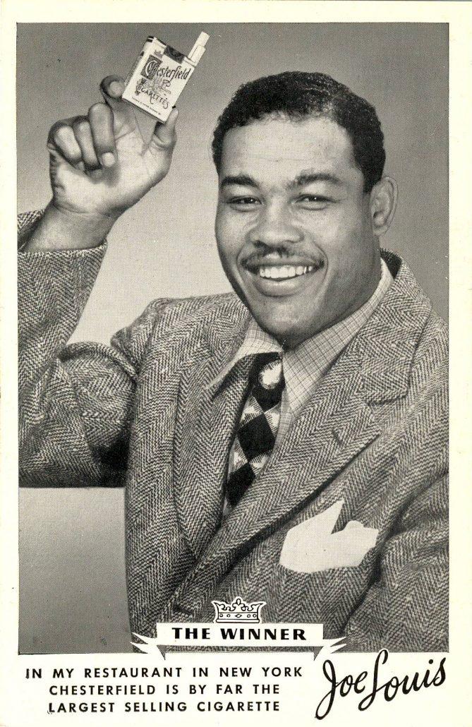 1948 Joe Louis for Chesterfield