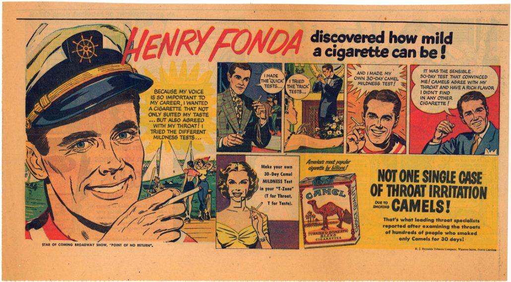 1951 Henry Fonda for Camel 1