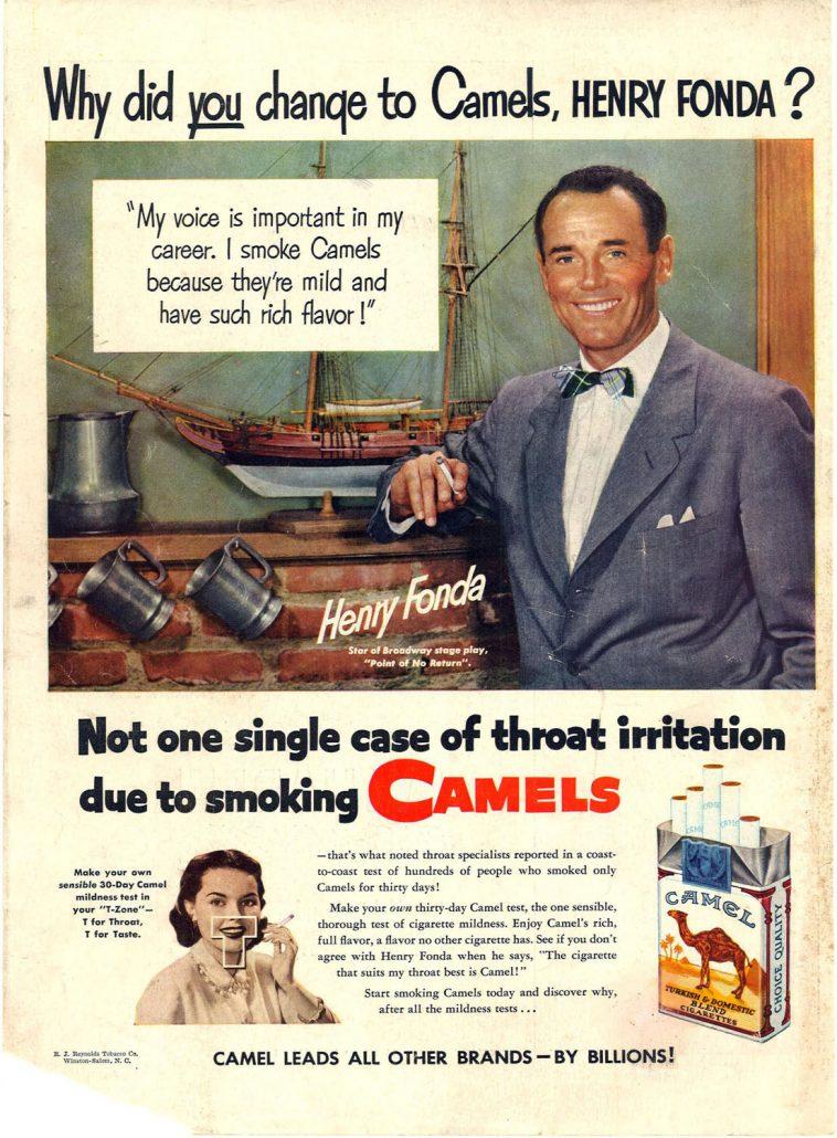 1951 Henry Fonda for Camel 2