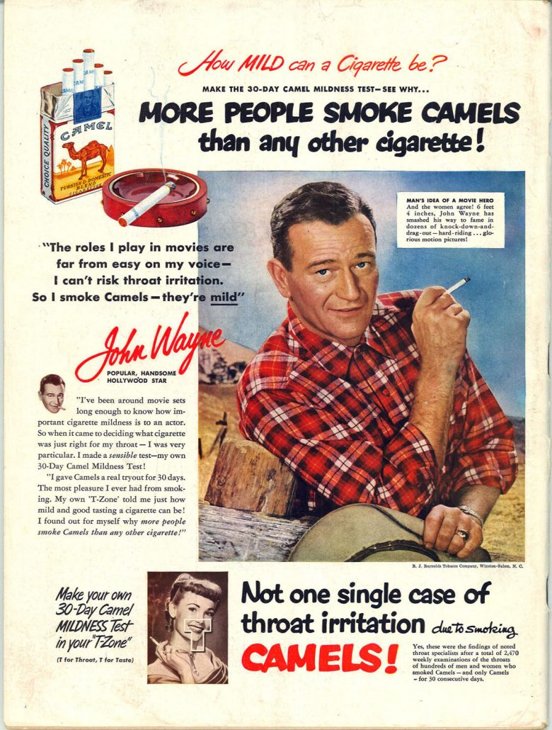 1951 Life John Wayne for Camel