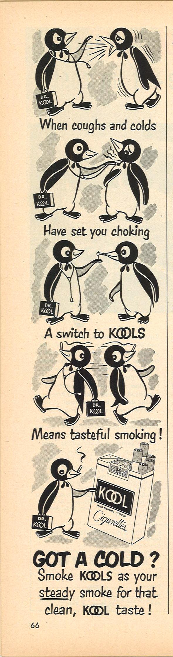 1952 03 24 Time Kool Ad Got a Cold