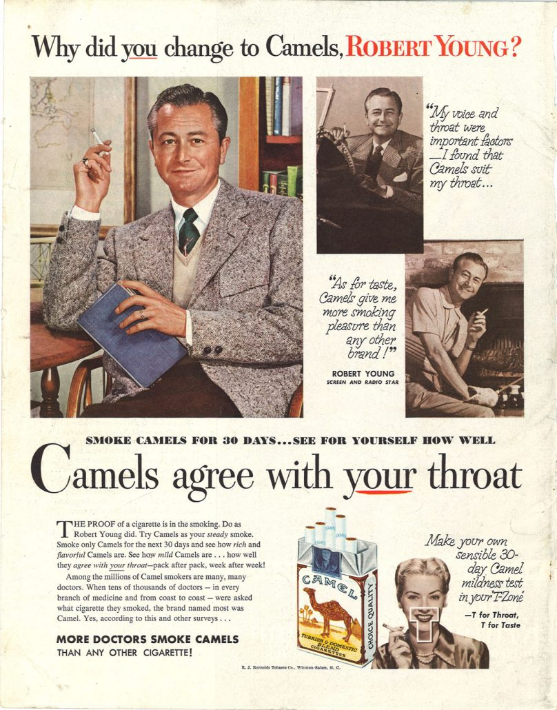 1952 Robert Young for Camel