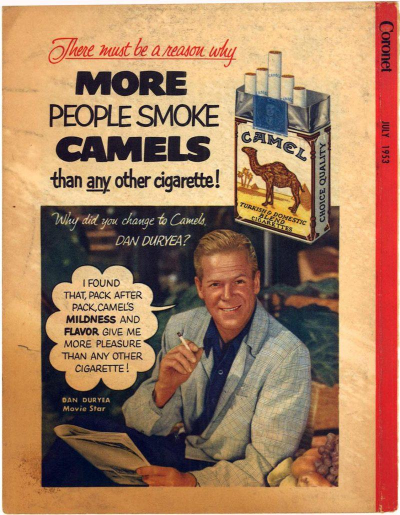 1953 Coronet Dan Duryea for Camel