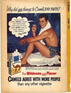 1953 Coronet Tony Curtis for Camel