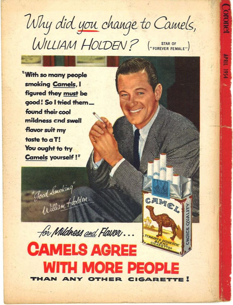 1954 Coronet William Holden for Camel