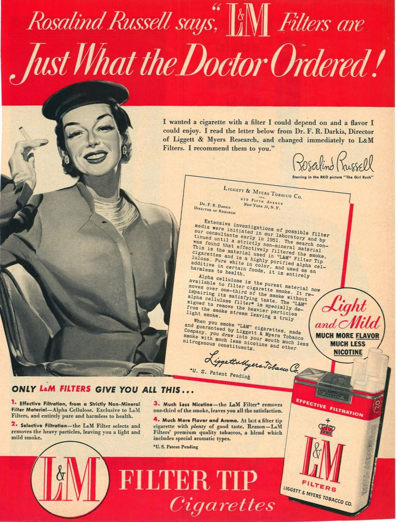 1955 Rosalind Russell for LM