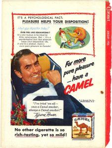 1956 Coronet Tyrone Power for Camel