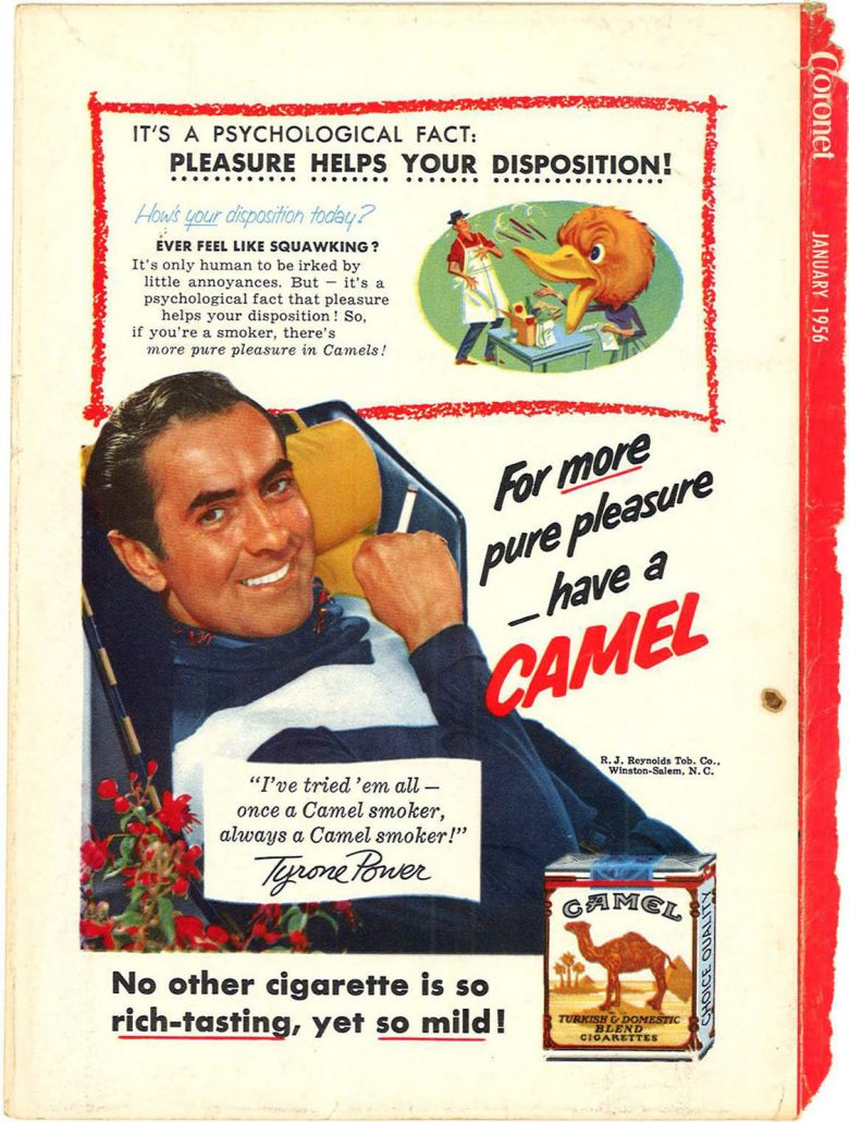 1956 Coronet Tyrone Power for Camel