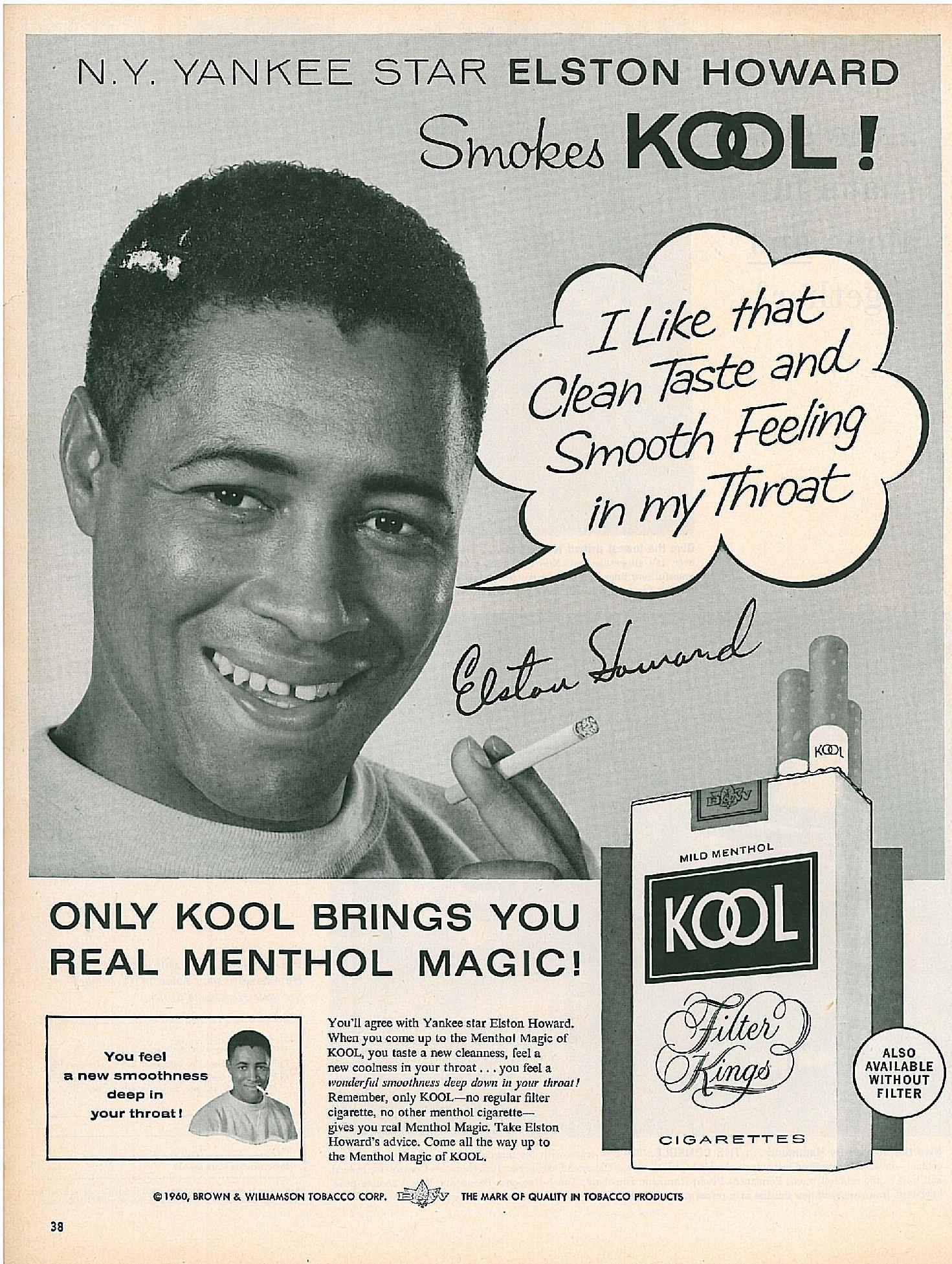 1960 Elston Howard for Kool