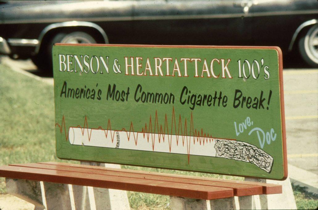 1978 DOC Bus Bench Benson Heartattack
