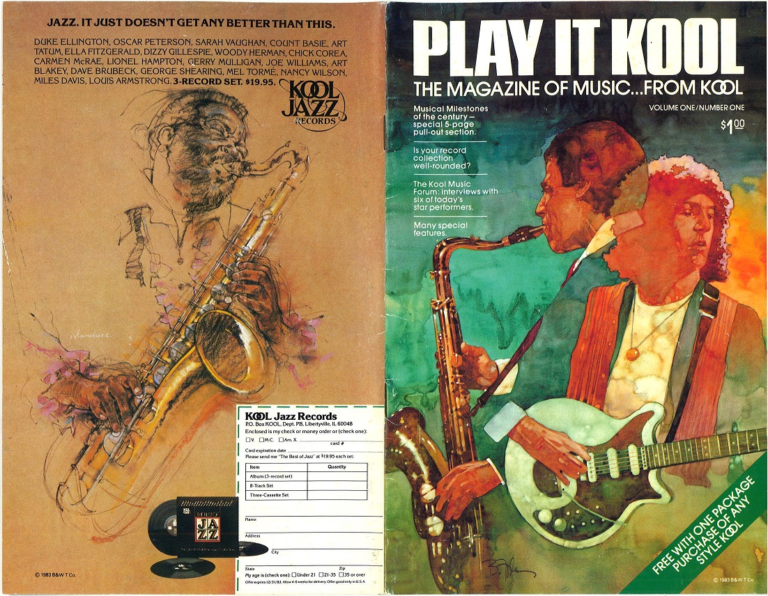 1983 Play It Kool The Magazine of Music