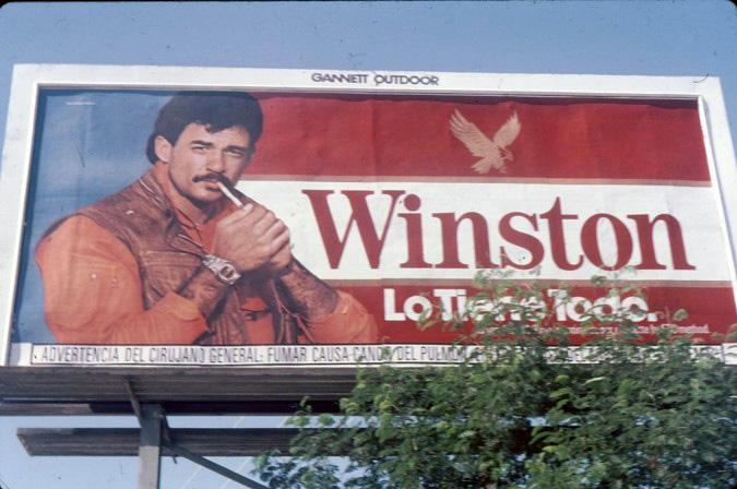 1985 Winston Billboard Spanish