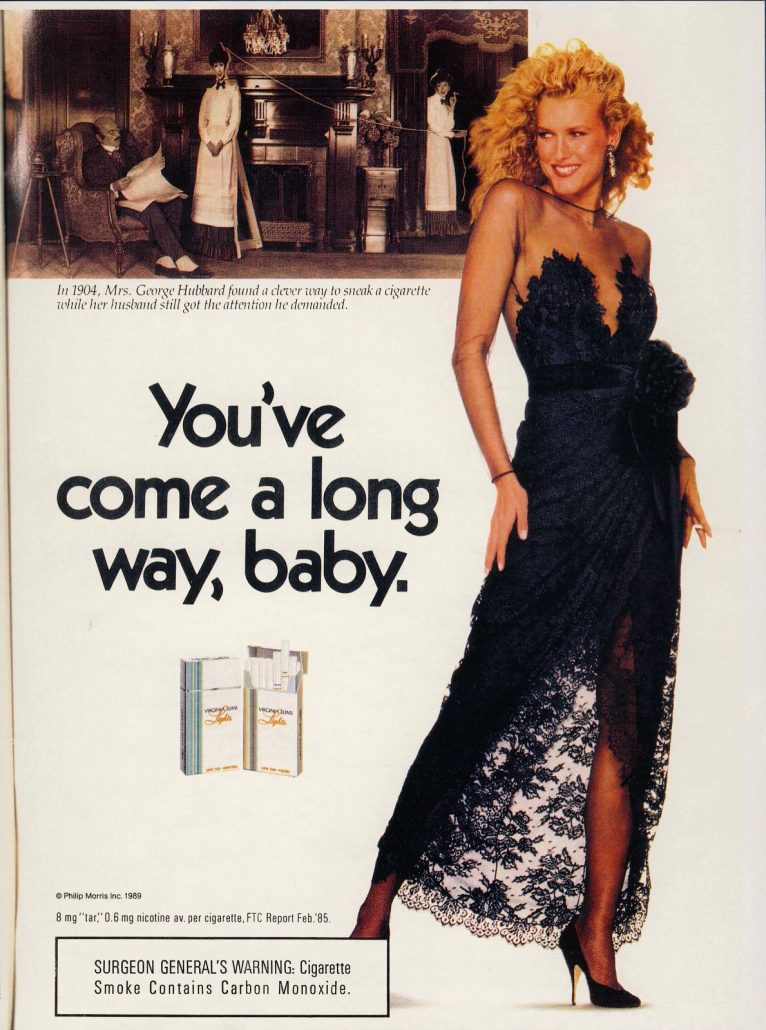 1989 People Extra Virginia Slims Ad