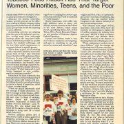 1990 09 26 JAMA Tobacco Foes Attack Ads Targeting Women Minorities Pg 1