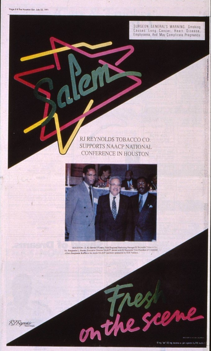 1991 07 22 Houston Sun NAACP National Conf Ad 1