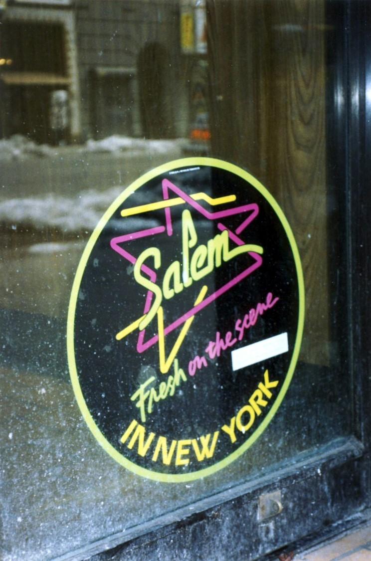 1991 Salem Neon Sign 1