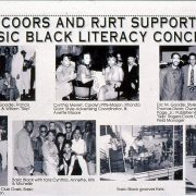 1995 Coors RJRT Support Basic Black Literacy Concert 1