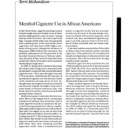1996 Hospital Practice Menthol Cig Use in African Americans Pg 2
