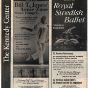 1999 05 09 Wash. Post Jones Zane Dance Co. Ad Sponsor PM 1