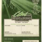 1999 06 17 Houston Chronicle BH Concert Series Ad 1
