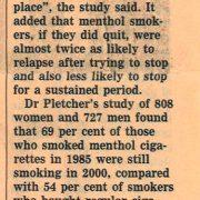 2006 09 26 Financial Times Menthol Habit Hits Black Smokers Pg 2