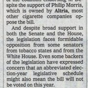 2008 05 30 NY Times Black Group Turns Away from Smoking Bill Pg 2