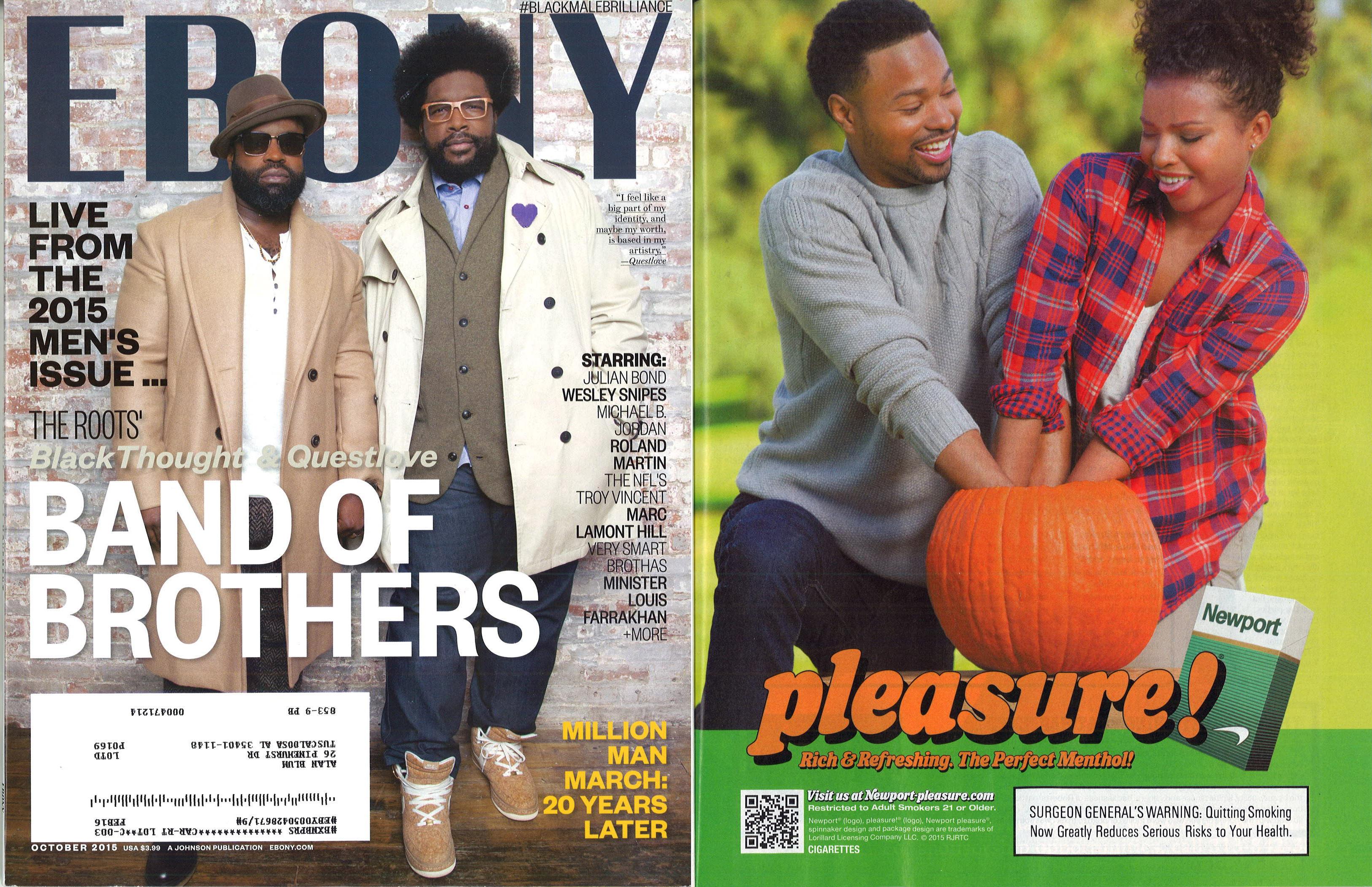 2015 10 Ebony Front Cover Newport Ad