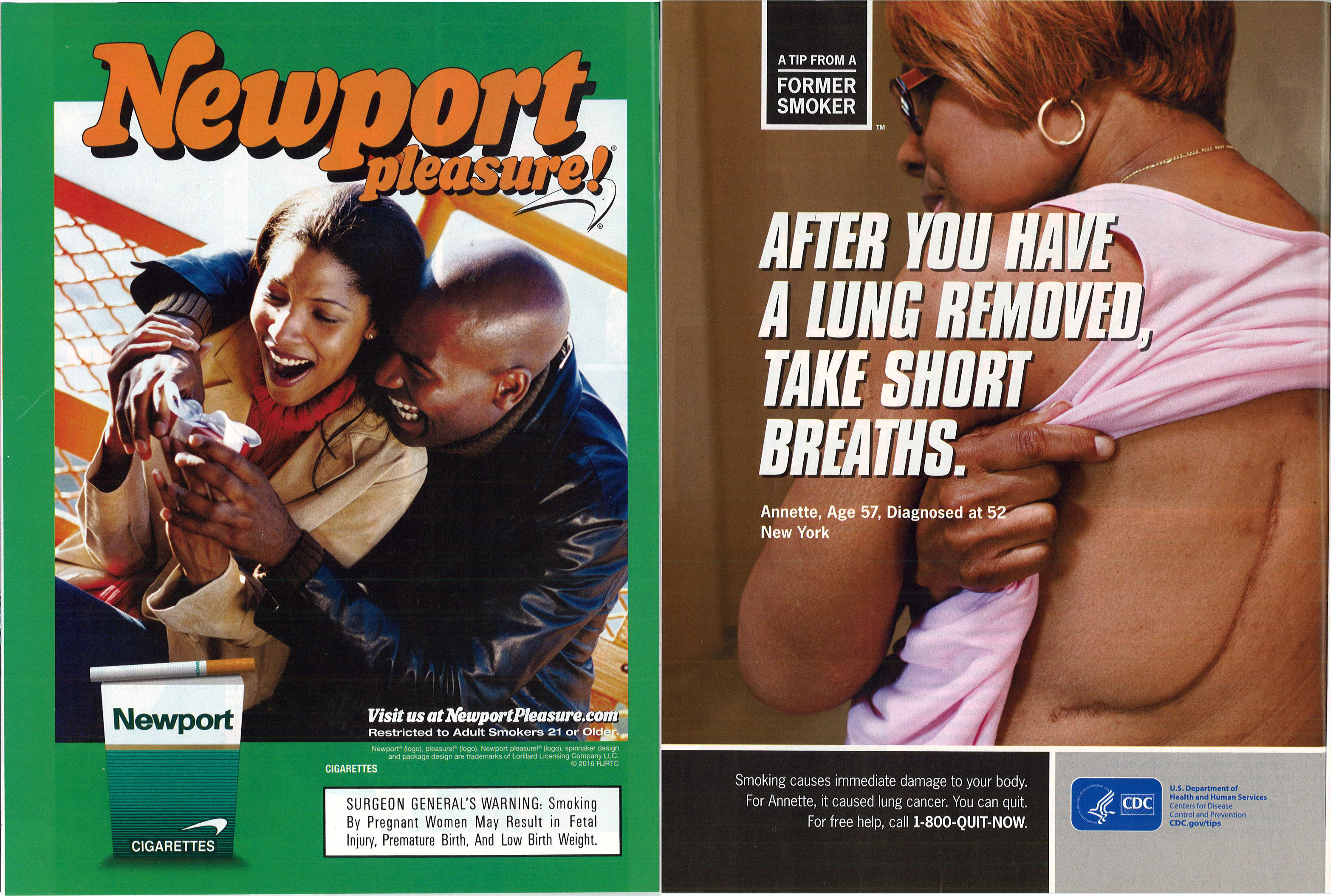 2016 03 Essence Newport Smoking Cessation Ads