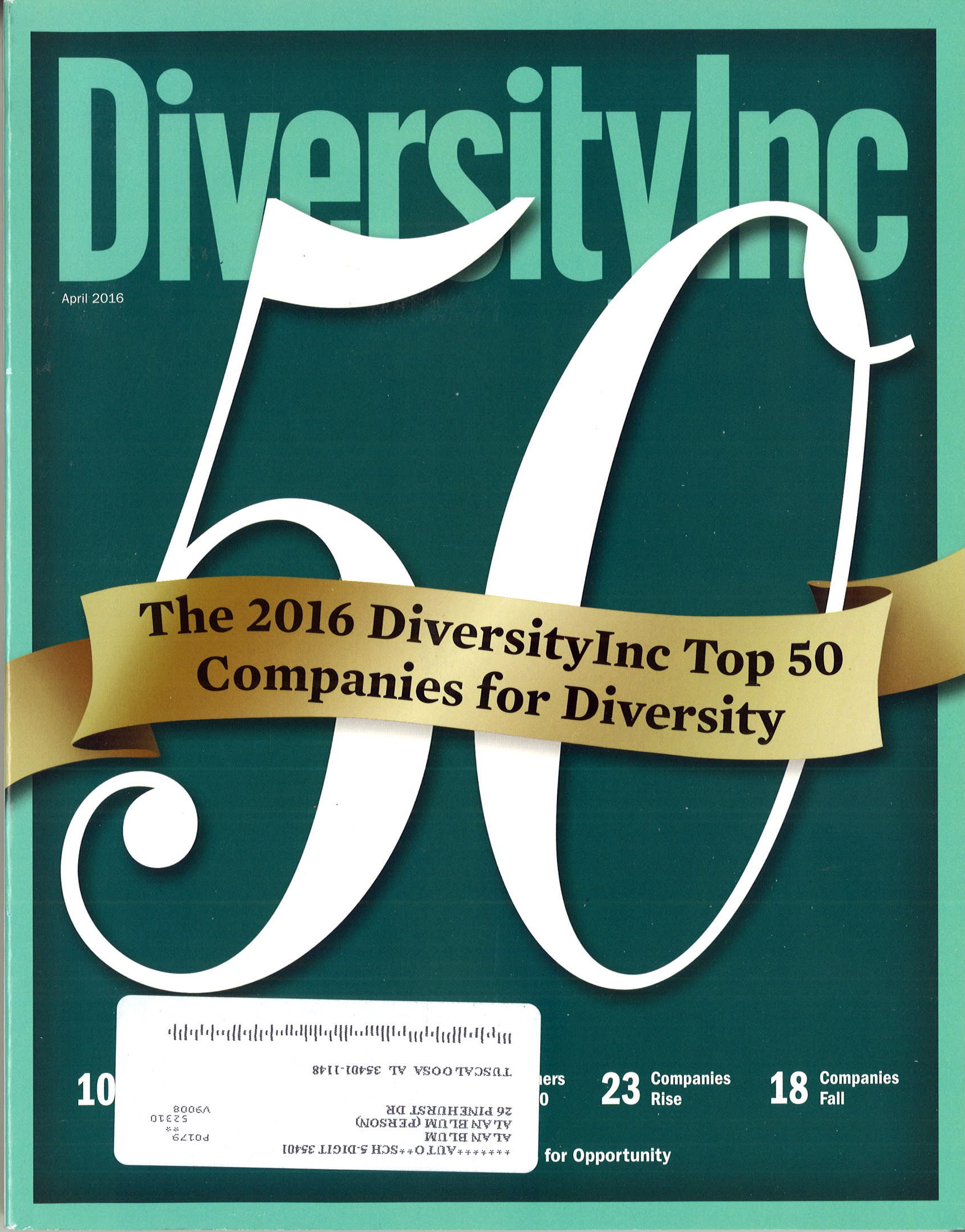 2016 04 DiversityInc 25 Noteworthy Cos. Online Job Board Pg 1