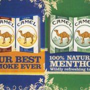 n.d. Camel Promotional Card Best Smoke Ever Natural Menthol