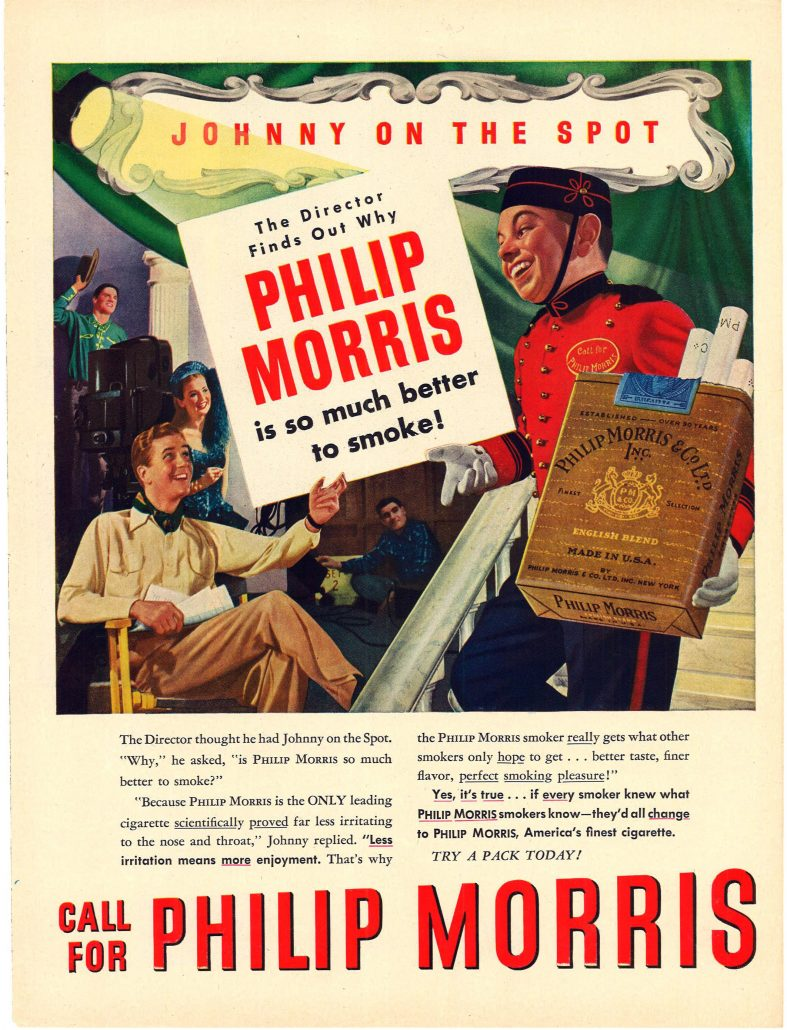 n.d. Little Johnny for Philip Morris