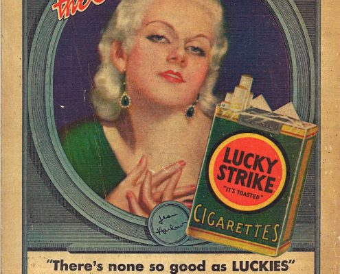 1932 Jean Harlow for Lucky Strike 1