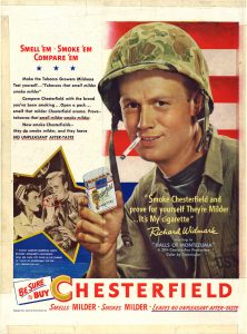 1951 Richard Widmark for Chesterfield