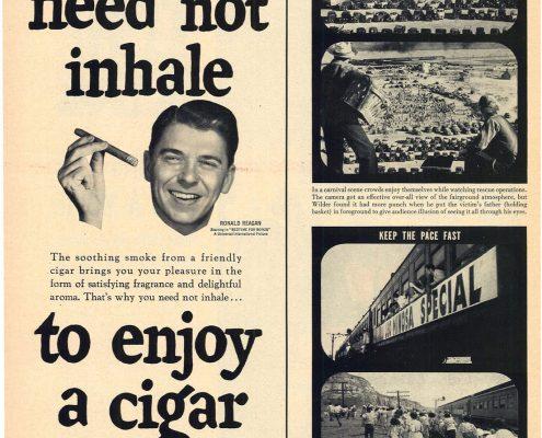 1951 Ronald Reagan for Cigar Institute of America Inc 1