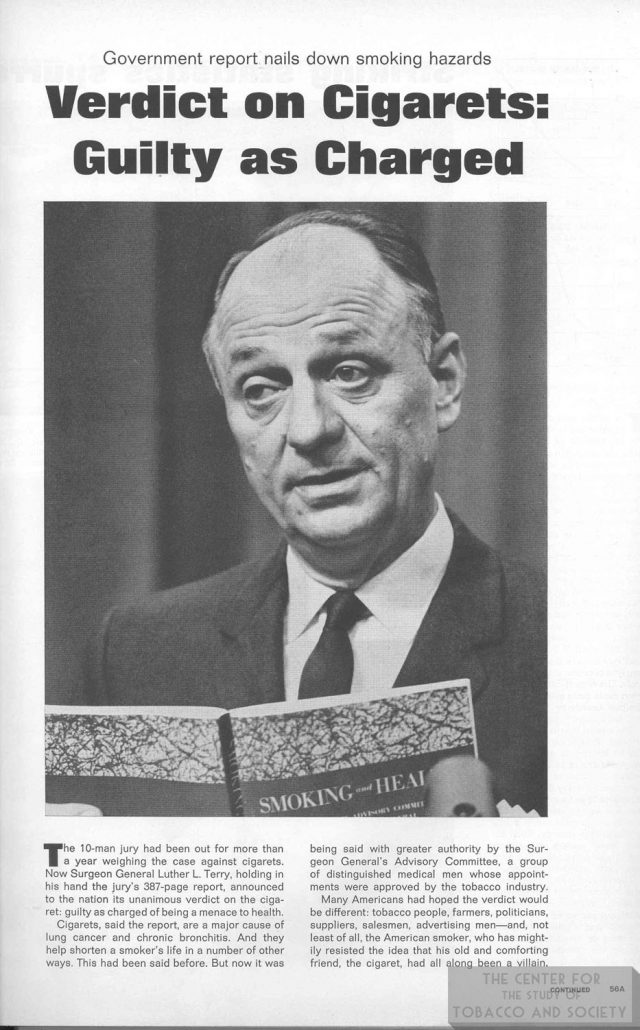 1964 01 24 Life Verdict on Cigs Guilty