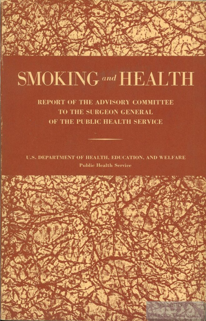 1964 SGs Report Front Cover